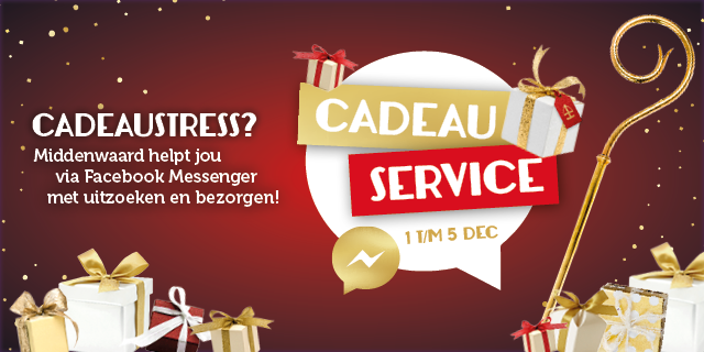 Cadeau Service via Facebook Messenger